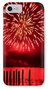 Fiery Fourth IPhone Case by Peter Mooyman