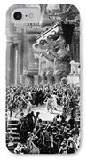 Film: Intolerance, 1916 IPhone Case by Granger