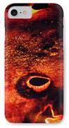 Fire Wall IPhone Case by Empty Wall