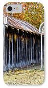 Fireman Cottage IPhone Case by Douglas Barnard