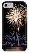 Fireworks  Abound IPhone Case by Bill Pevlor