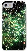 Fireworks Number 4 IPhone Case by Meandering Photography