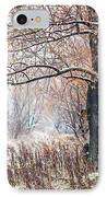 First Snow. Old Tree IPhone Case by Jenny Rainbow