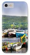 Fishing Boats In Newfoundland IPhone Case