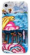 Floating Thru Mardi Gras IPhone Case by Steve Harrington