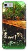 Florida Landscape IPhone Case by Susanne Van Hulst