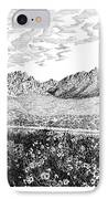 Florida Mountains And Poppies IPhone Case by Jack Pumphrey