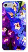 Flower Arrangement 012812 IPhone Case by David Lane