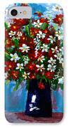 Flower Arrangement Bouquet IPhone Case by Patricia Awapara