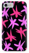 Flower Stars  IPhone Case by Louisa Knight