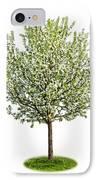Flowering Apple Tree IPhone Case by Elena Elisseeva