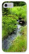 Forest Creek In Newfoundland IPhone Case