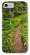 Forest Path In Newfoundland IPhone Case by Elena Elisseeva