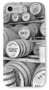 Fort Macon Food Supplies Bw 9070 3759 IPhone Case by Michael Peychich