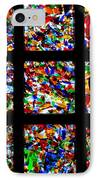 Fractured Squares IPhone Case by Meandering Photography