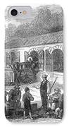 France: Winemaking, 1871 IPhone Case by Granger
