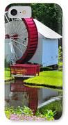 Franconia Notch Waterwheel IPhone Case