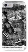 Franklin: Cartoon, 1764 IPhone Case