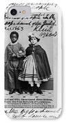 Freedmen School, 1863 IPhone Case by Granger