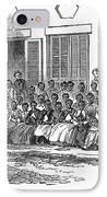 Freedmens School, 1868 IPhone Case by Granger