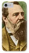 Friedrich Engels, Father Of Communism IPhone Case