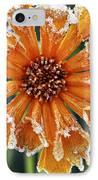 Frosty Flower IPhone Case by Elena Elisseeva