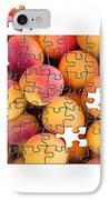 Fruit Jigsaw1 IPhone Case by Jane Rix