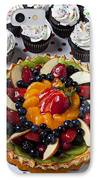 Fruit Tart Pie And Cupcakes  IPhone Case by Garry Gay