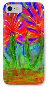 Funky Flower Towers IPhone Case