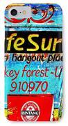 Funky Kafe Suri In Bali IPhone Case