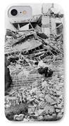 Galveston Flood Damage - September - 1900 IPhone Case