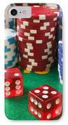 Gambling Dice IPhone Case