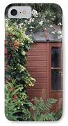 Garden Shed IPhone Case by Archie Young