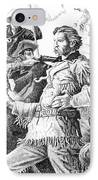 General Custer's Last Stand IPhone Case by Gordon Punt