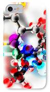Generic Molecule IPhone Case by Laguna Design