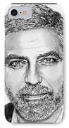George Clooney In 2009 IPhone Case