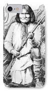 Geronimo IPhone Case