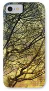Ghosts Of Crape Myrtles IPhone Case by Judi Bagwell