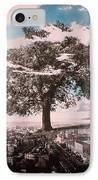 Giant Tree In City IPhone Case