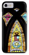 Gold Stained Glass Window IPhone Case