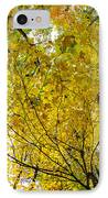 Golden Canopy IPhone Case by Rick Berk