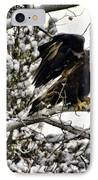 Golden Eagle Stretching IPhone Case by Don Mann