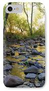 Golden Reflection In The Canyon Of  Light IPhone Case