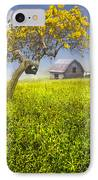 Good Morning Spring IPhone Case by Debra and Dave Vanderlaan