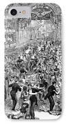 Grand Ball, New York, 1877 IPhone Case by Granger