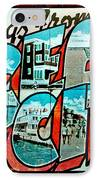 Greetings From Oc IPhone Case by Skip Willits