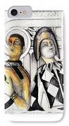 Harlequins IPhone Case by Bob Salo