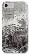Harpers Ferry Insurrection, 1859 IPhone Case