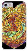 Heartline 8 IPhone Case by Will Borden