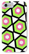Hexagon IPhone Case by Louisa Knight